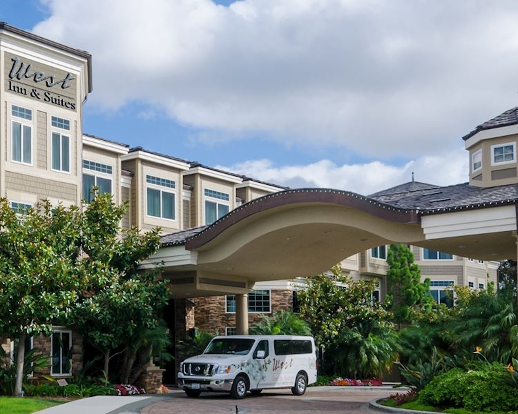 Complimentary Shuttle at West Inn & Suites, California