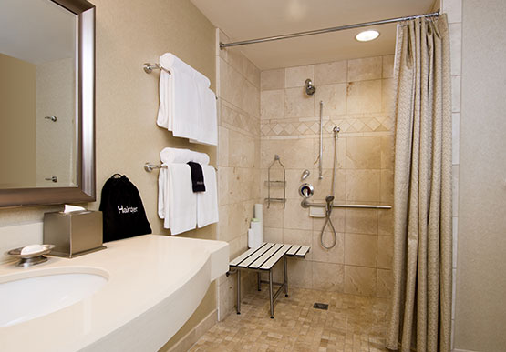 Accessible Rooms at West Inn & Suites, California