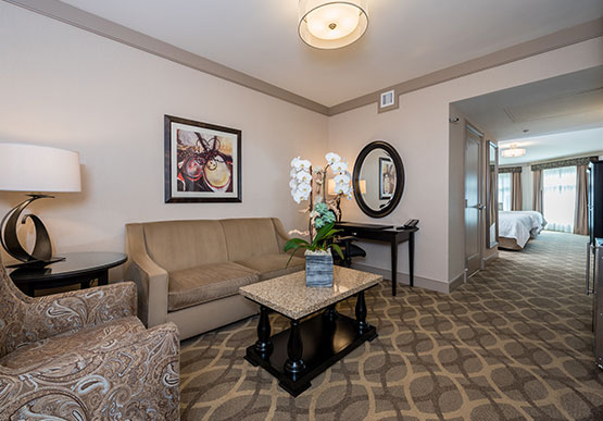 Premier King Suite at West Inn & Suites, California